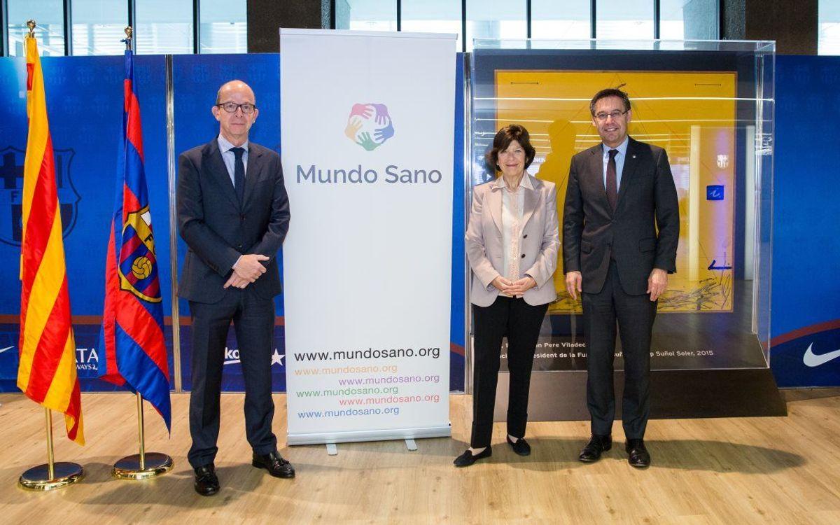 Acord amb la Fundació Mundo Sano