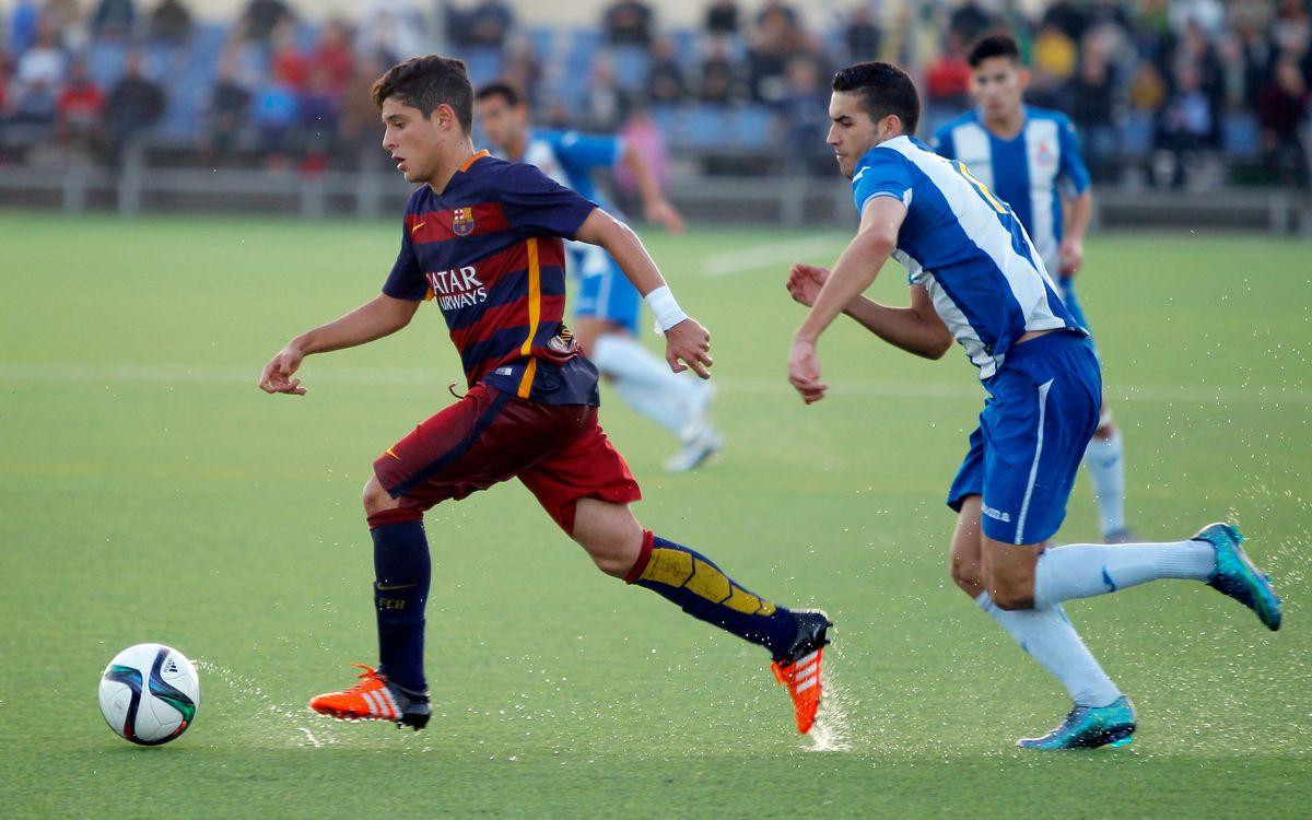 RCD Espanyol – FC Barcelona: Derrota en el derbi juvenil (3-1)