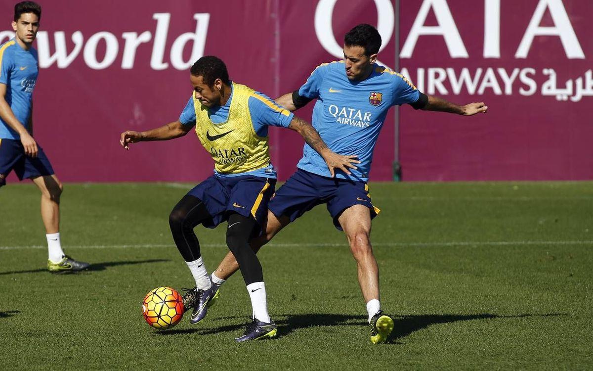 El pla d'entrenaments en una setmana sense jugadors internacionals
