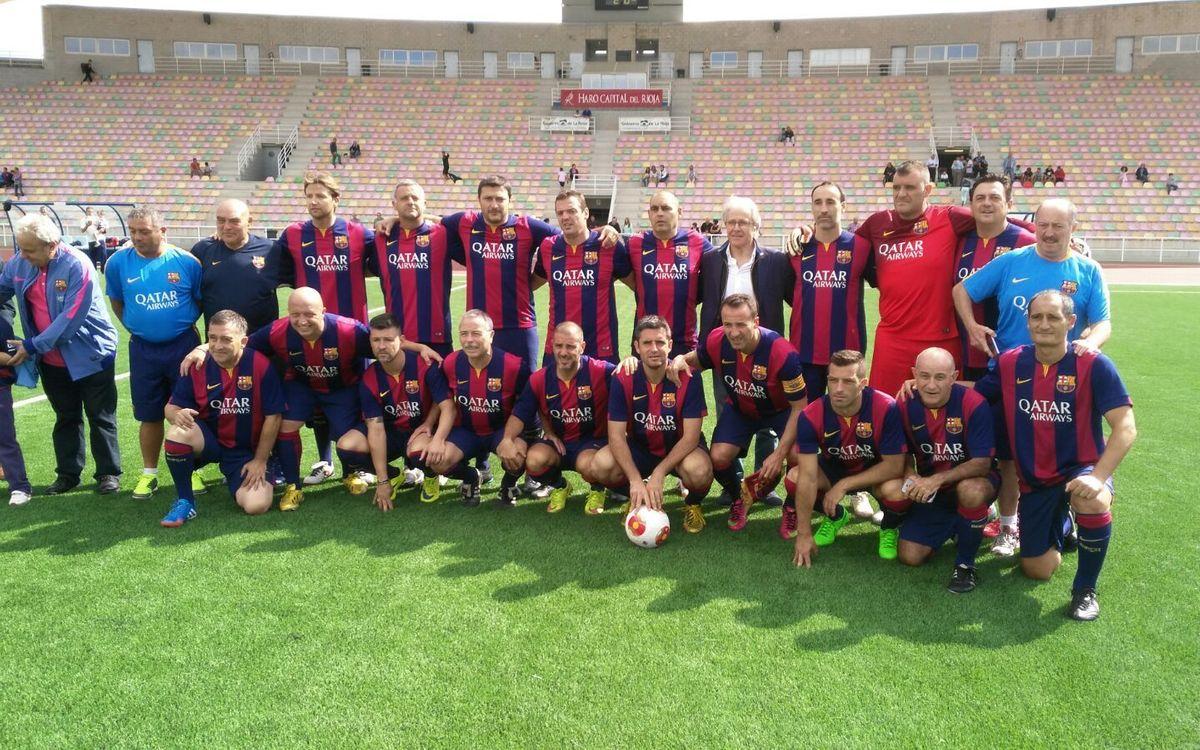 Partit de l'Agrupació a La Rioja