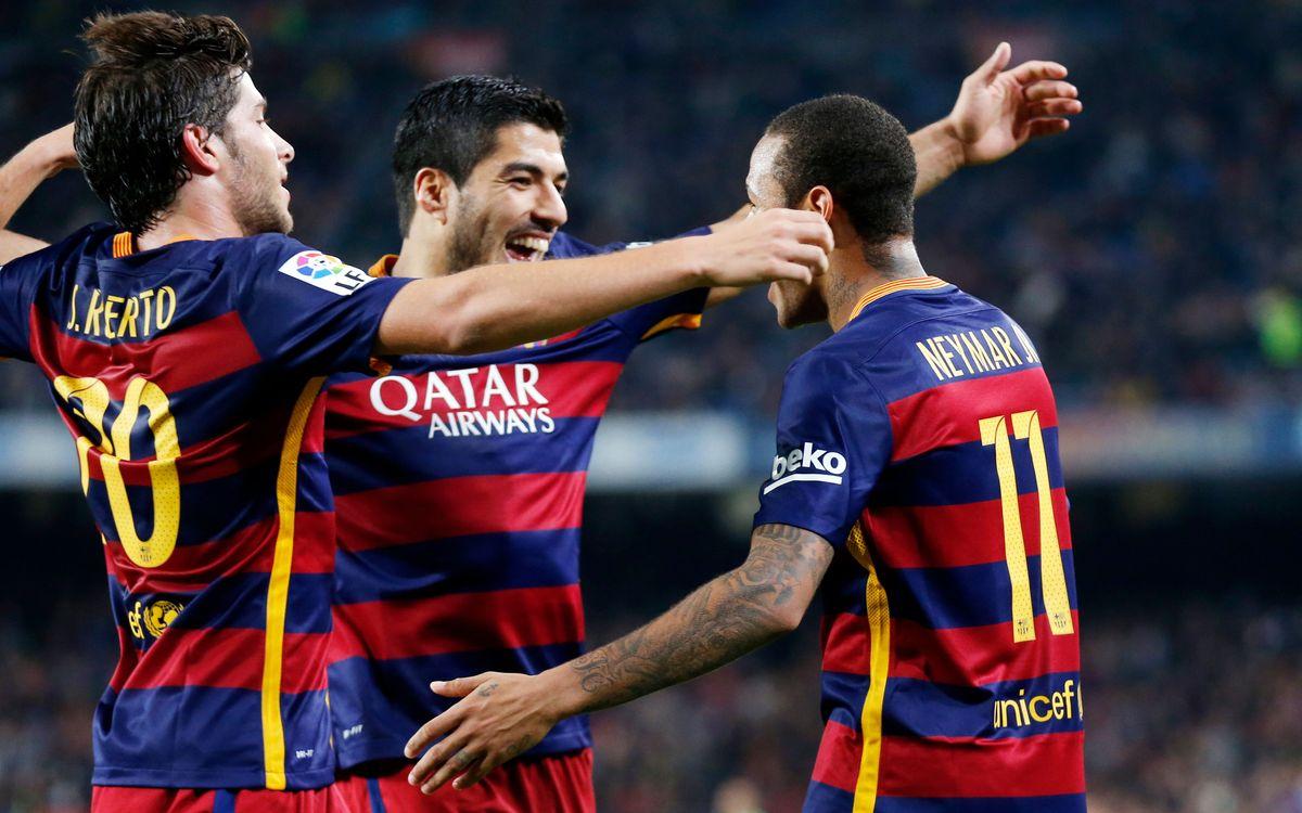 FC Barcelona - Vila-real CF: Amb els cinc sentits