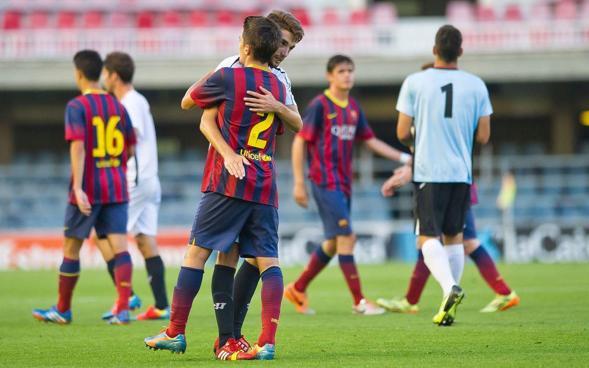 FC Barcelona-Sevilla: El Juvenil A queda fora de la final (2-1)