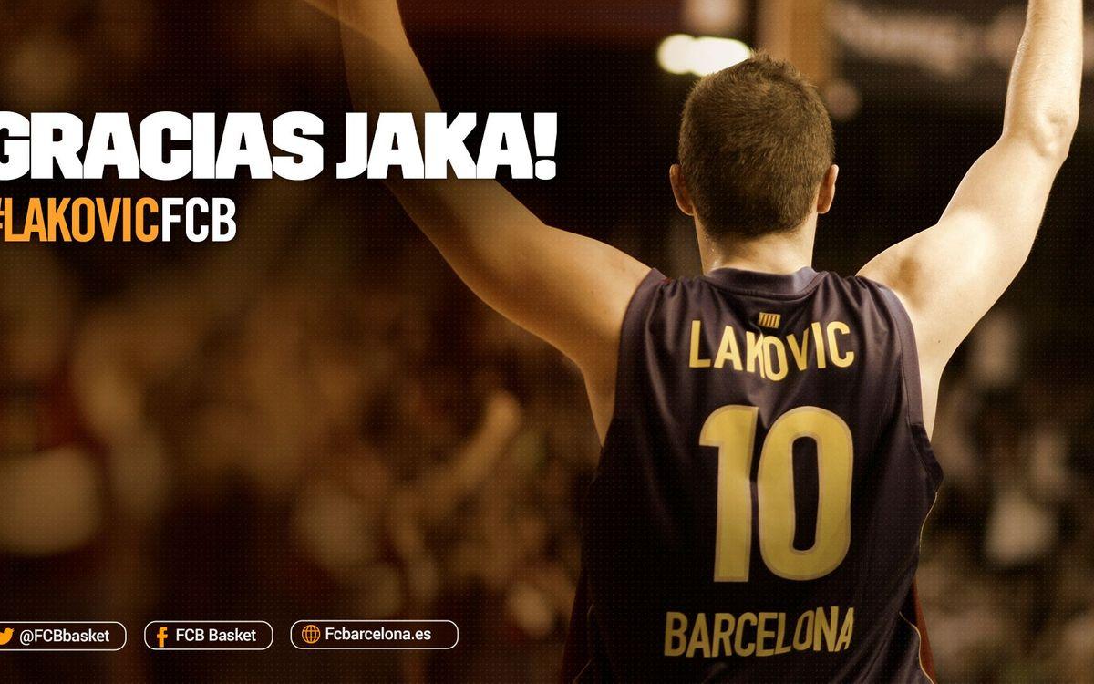 Jaka Lakovic anuncia su retirada del baloncesto profesional