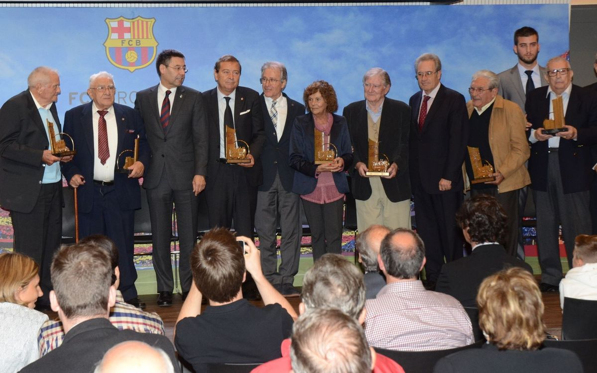 Mor Josep Duró Beal, jugador del Barça la temporada 1953-54