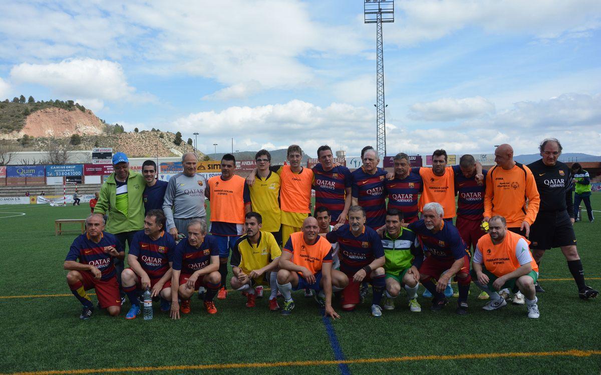 Partit de l'ABJ amb Special Olympics Catalunya