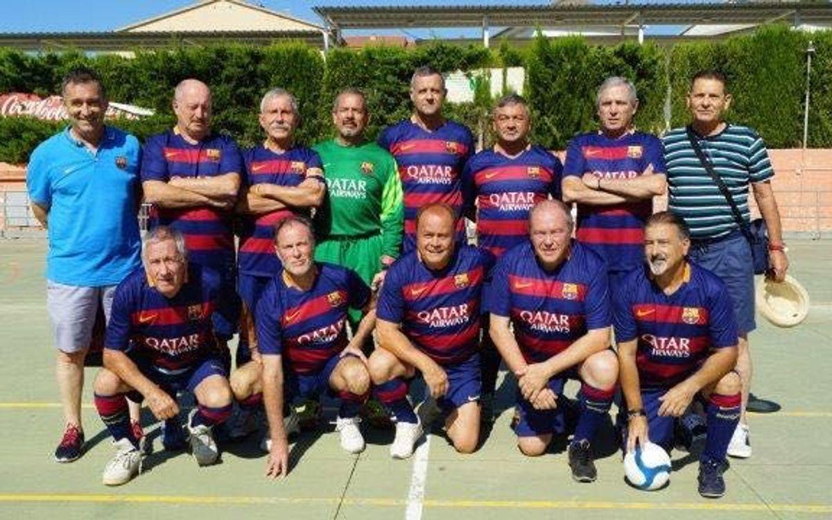 L'equip +55 de l'ABJ, campió en un triangular a Segur de Calafell