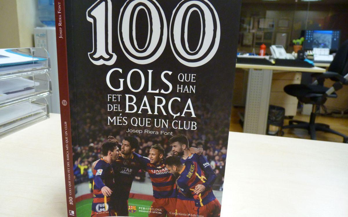 El libro con los 100 goles más importantes de la historia del Barça