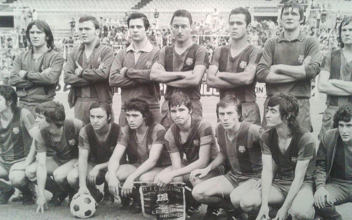 El equipo juvenil de la temporada 75-76: los compañeros de oro