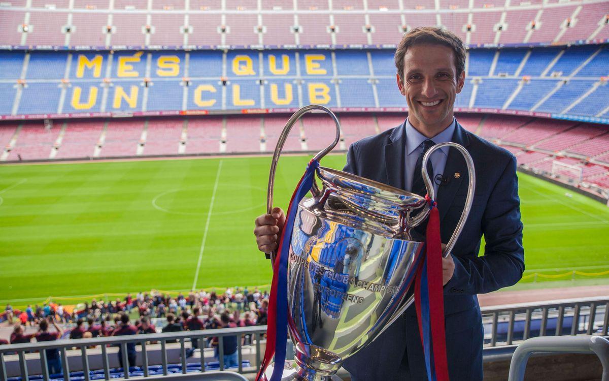 Juliano Belletti, protagonista del Seguim en Joc que s'estrenarà diumenge 5 de juny a Barça TV