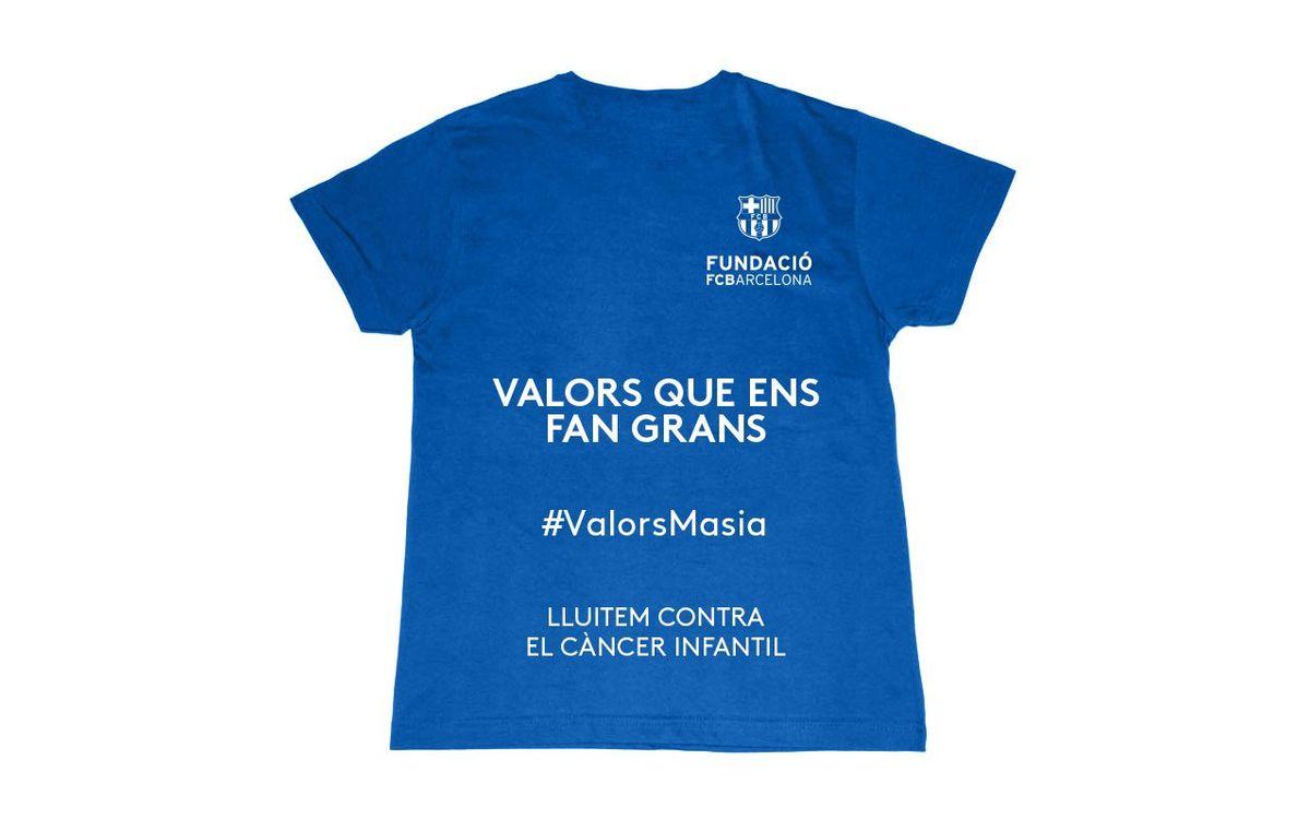 El projecte #ValorsMasia impulsa una nova acció de sensibilització sobre la lluita contra el càncer infantil