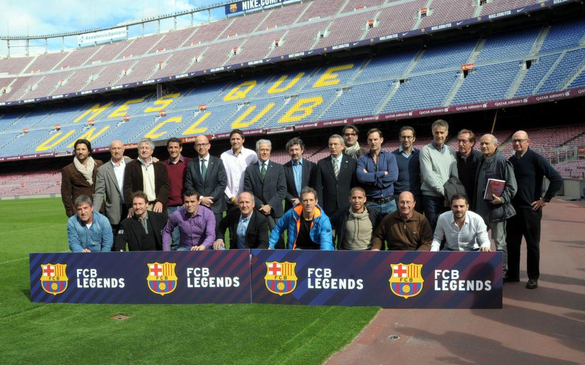 FCB Legends dará un nuevo impulso al valor de los exjugadores del Club
