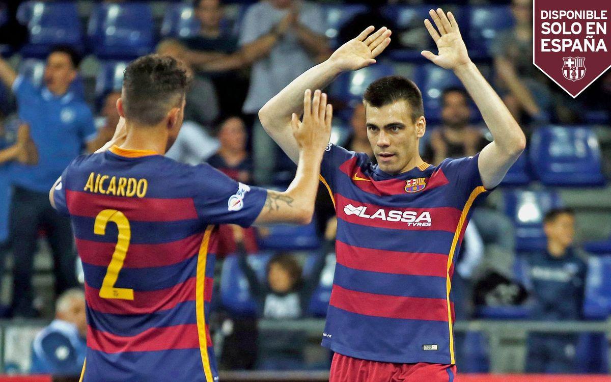 DIRECTO: FC Barcelona Lassa - Tasisat Daryaei
