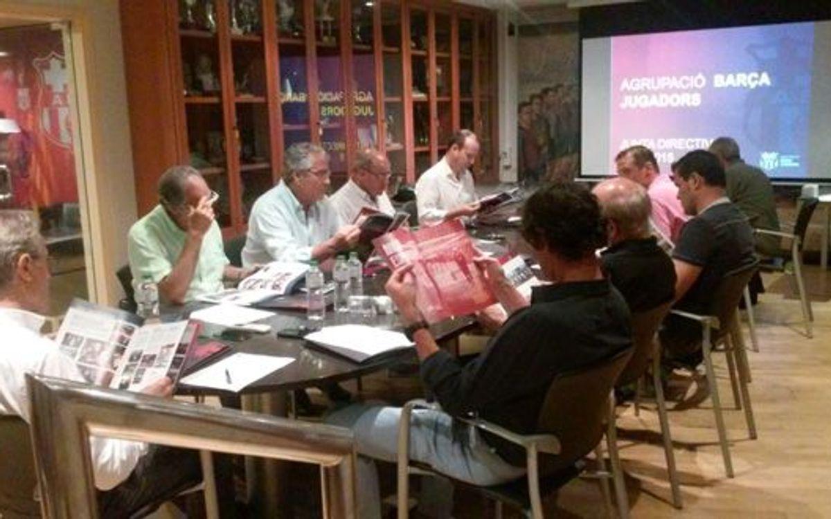 Acords de la junta directiva de l'Agrupació
