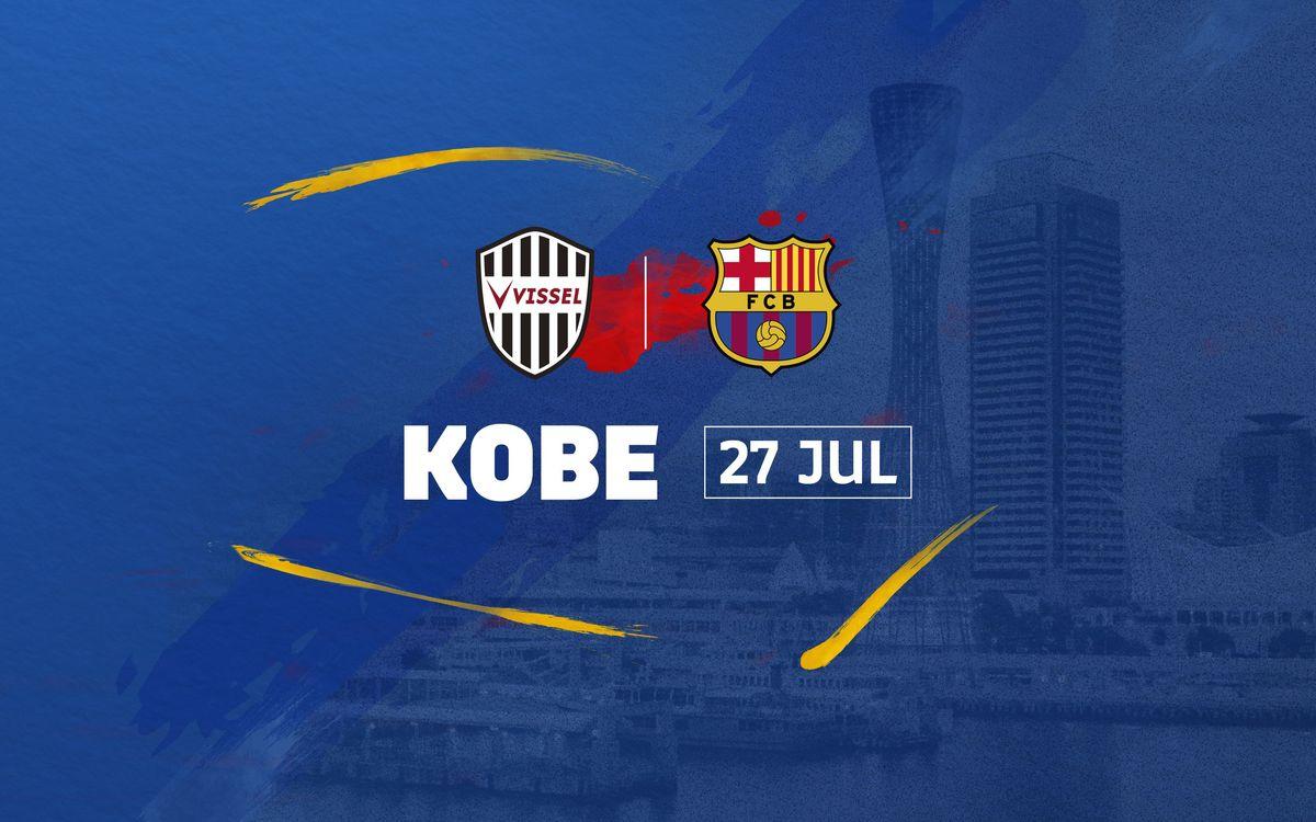 Kobe: Vissel Kobe – FC Barcelona