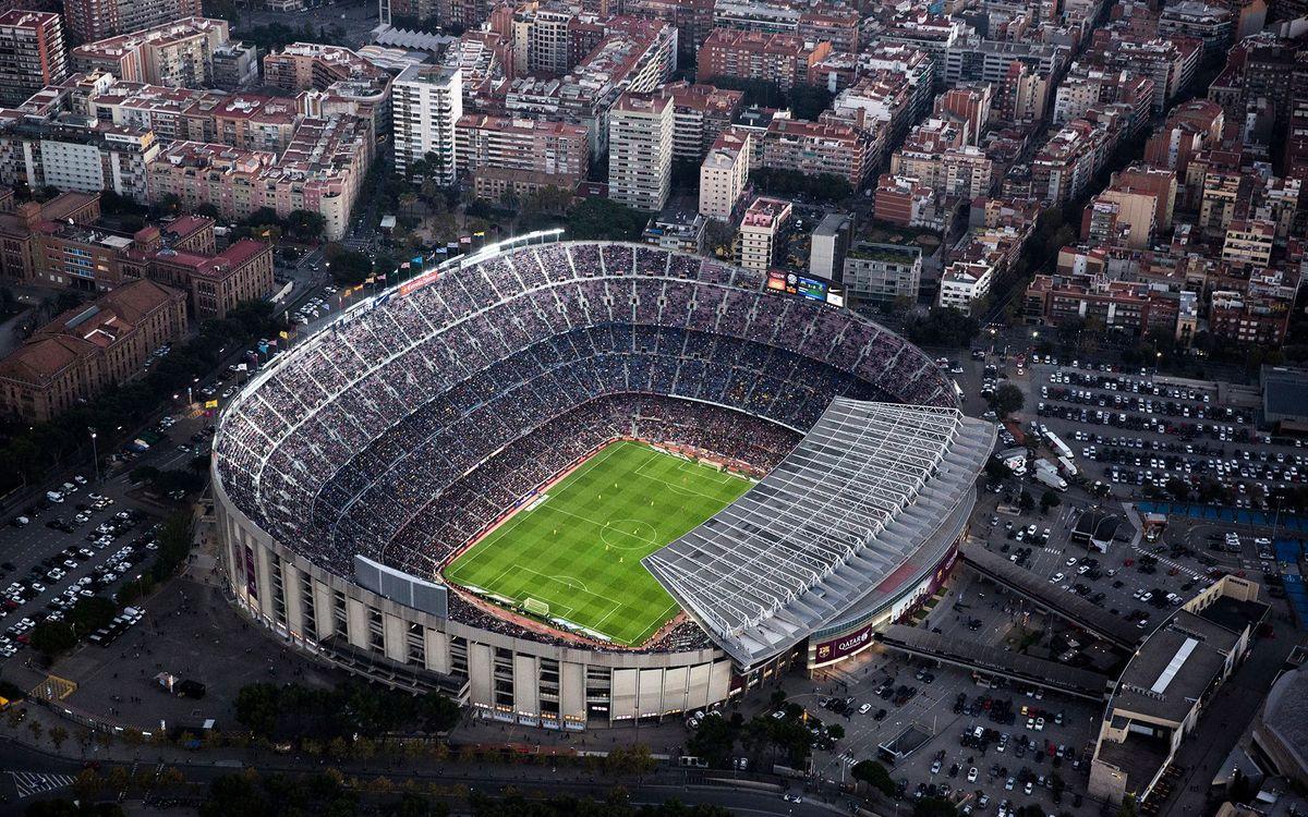 Medidas de seguridad en el Camp Nou para los partidos ante la Real Sociedad y el CF Villanovense