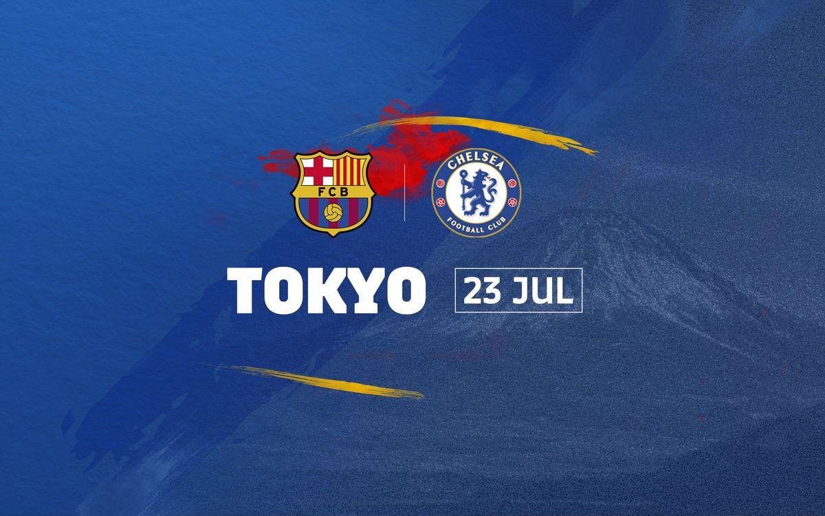 東京: FC バルセロナ – チェルシー