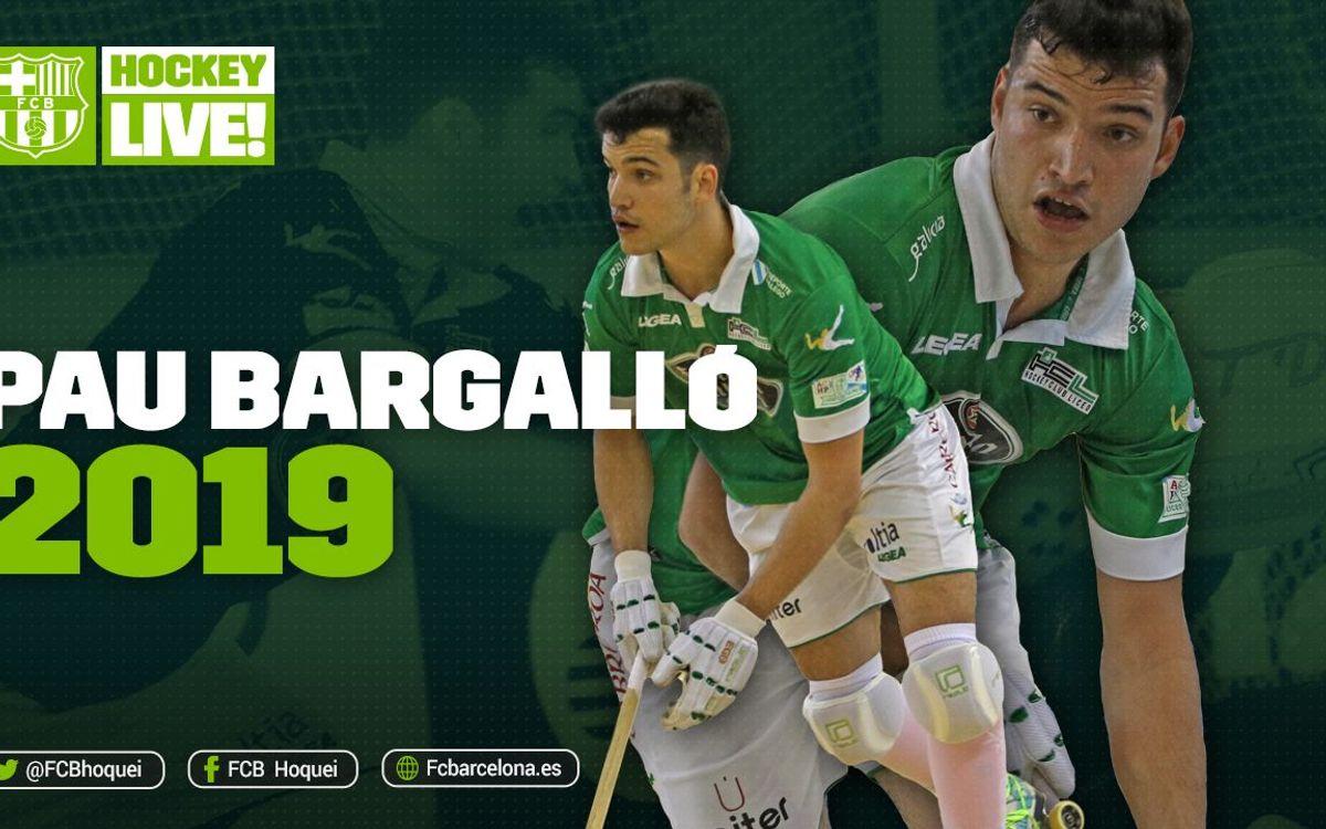Acuerdo para la incorporación de Pau Bargalló hasta 2019