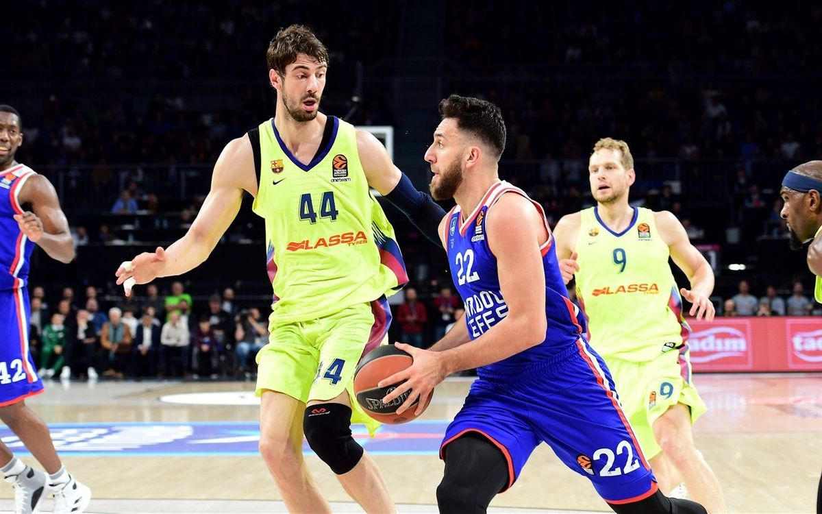 Anadolu Efes 75-68 Barça Lassa: The first point is Turkish