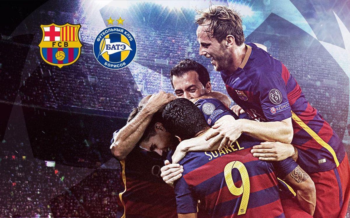 FC Barcelona – BATE Boríssov (Prèvia): Uns punts clau per ser virtualment a vuitens