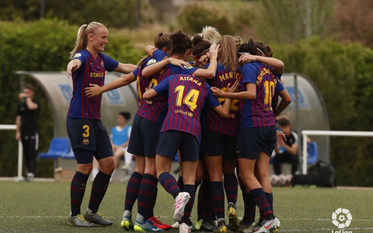 Madrid CFF 0-4 Barça Women: Three more points to pressure the leader