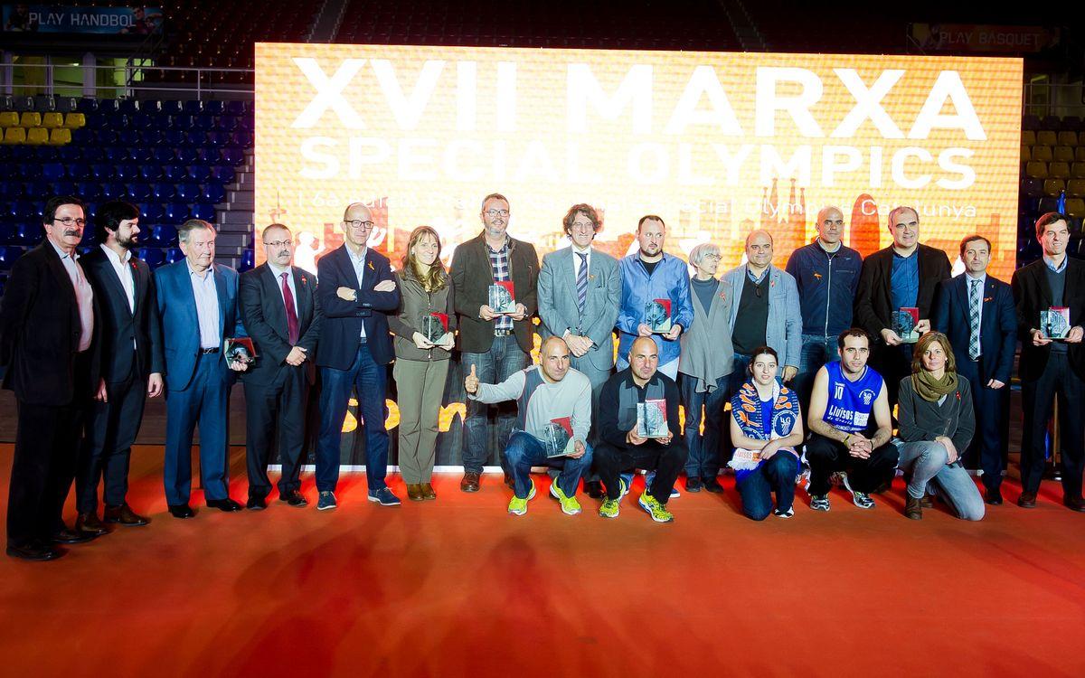 El Palau acull la festa de la XVII Marxa Special Olympics