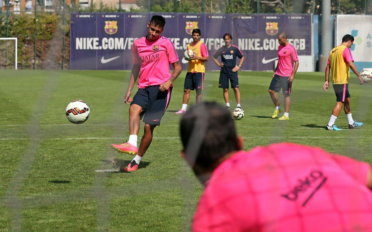Neymar recibe el alta e Iniesta, baja para Villarreal
