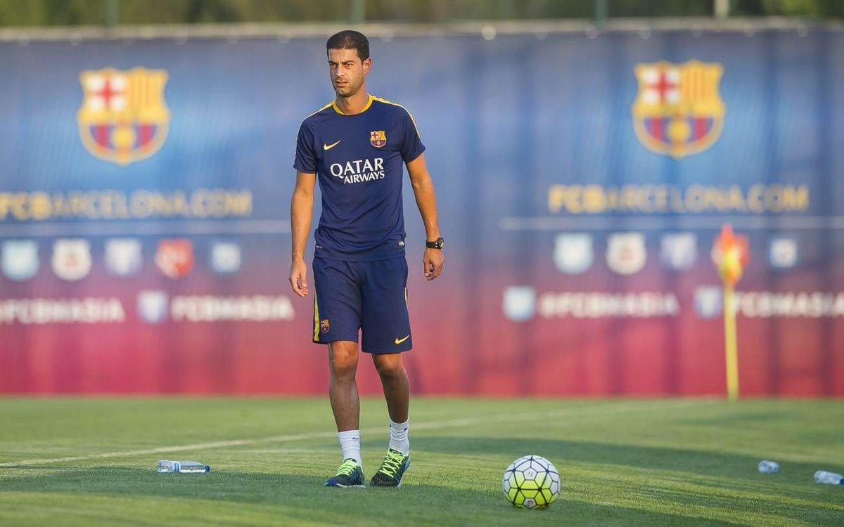 Gerard López, nou entrenador del Barça B