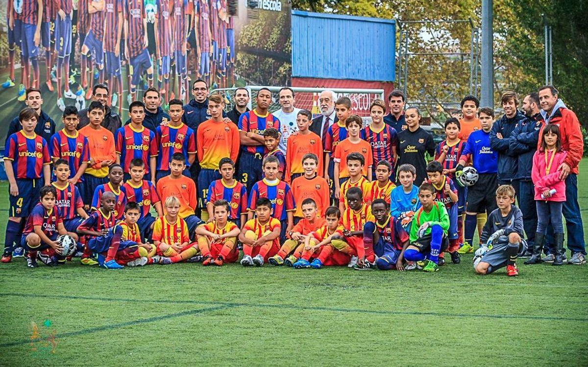 Jornada d'esport solidari al Mini