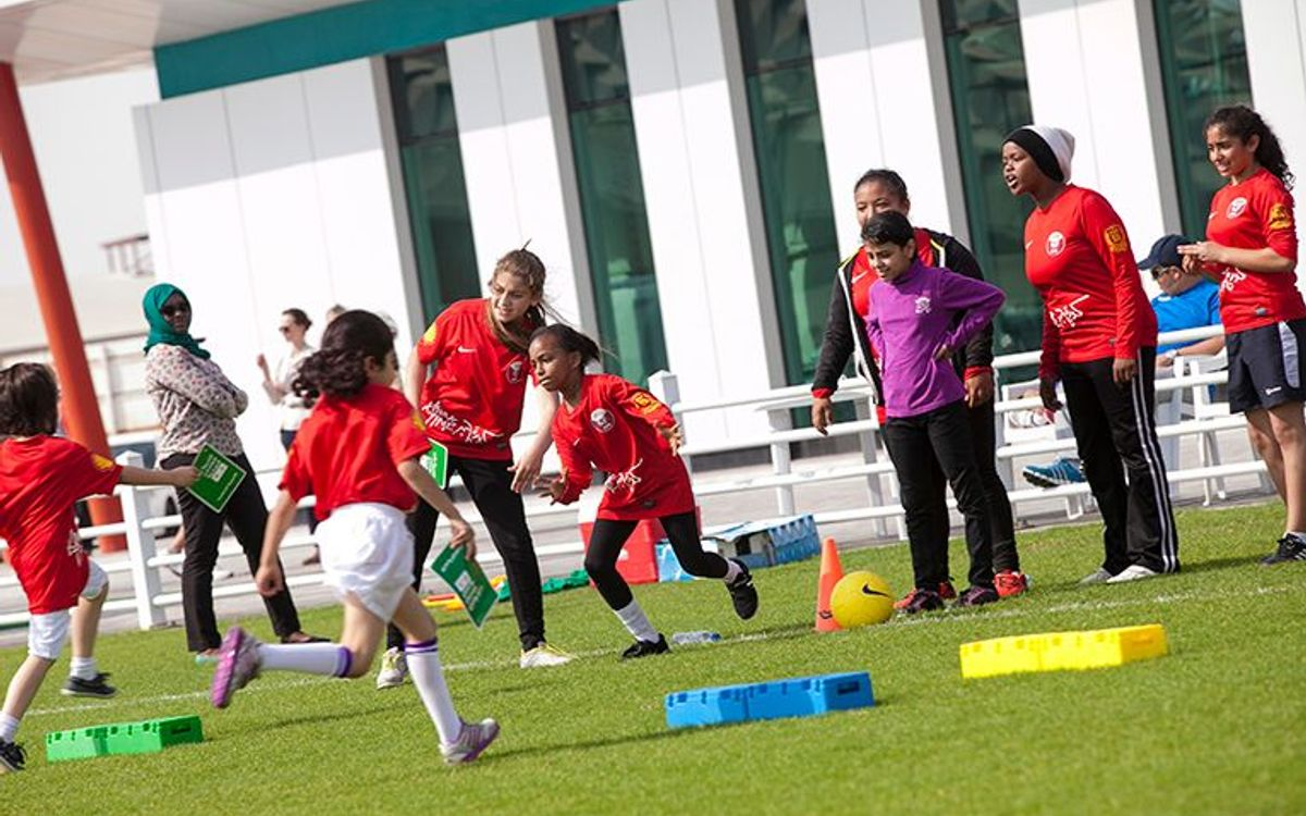 Premi per a 'FutbolNet' a Qatar
