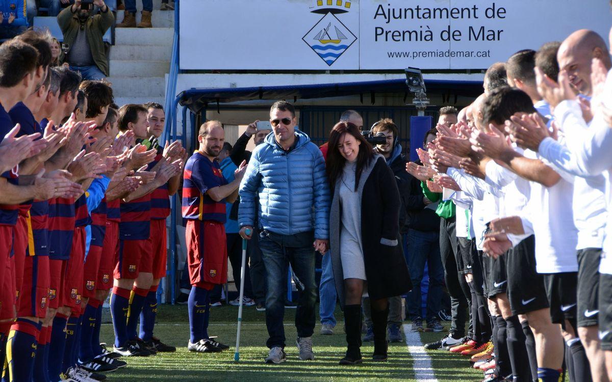 L'Agrupació participa al partit de suport a Anty Garcia