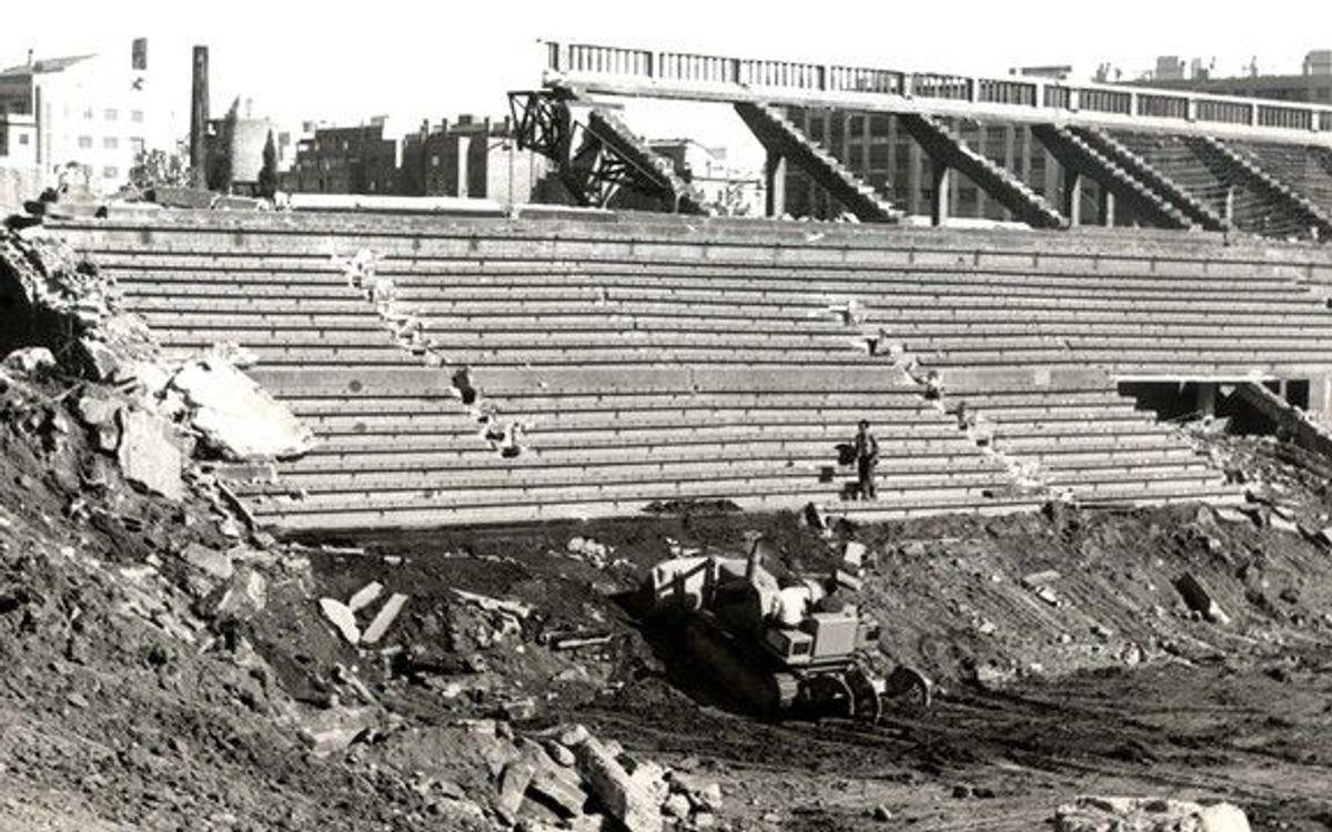 50 años sin el Estadio de Les Corts