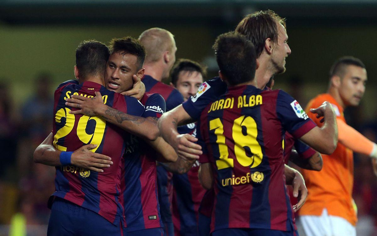 Villarreal - FC Barcelona: Gol de oro de Sandro (0-1)