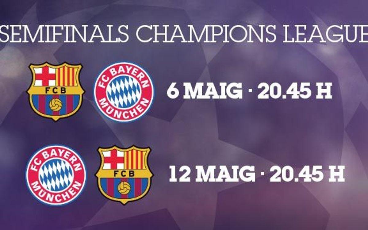 El Bayern, rival a semis de Champions