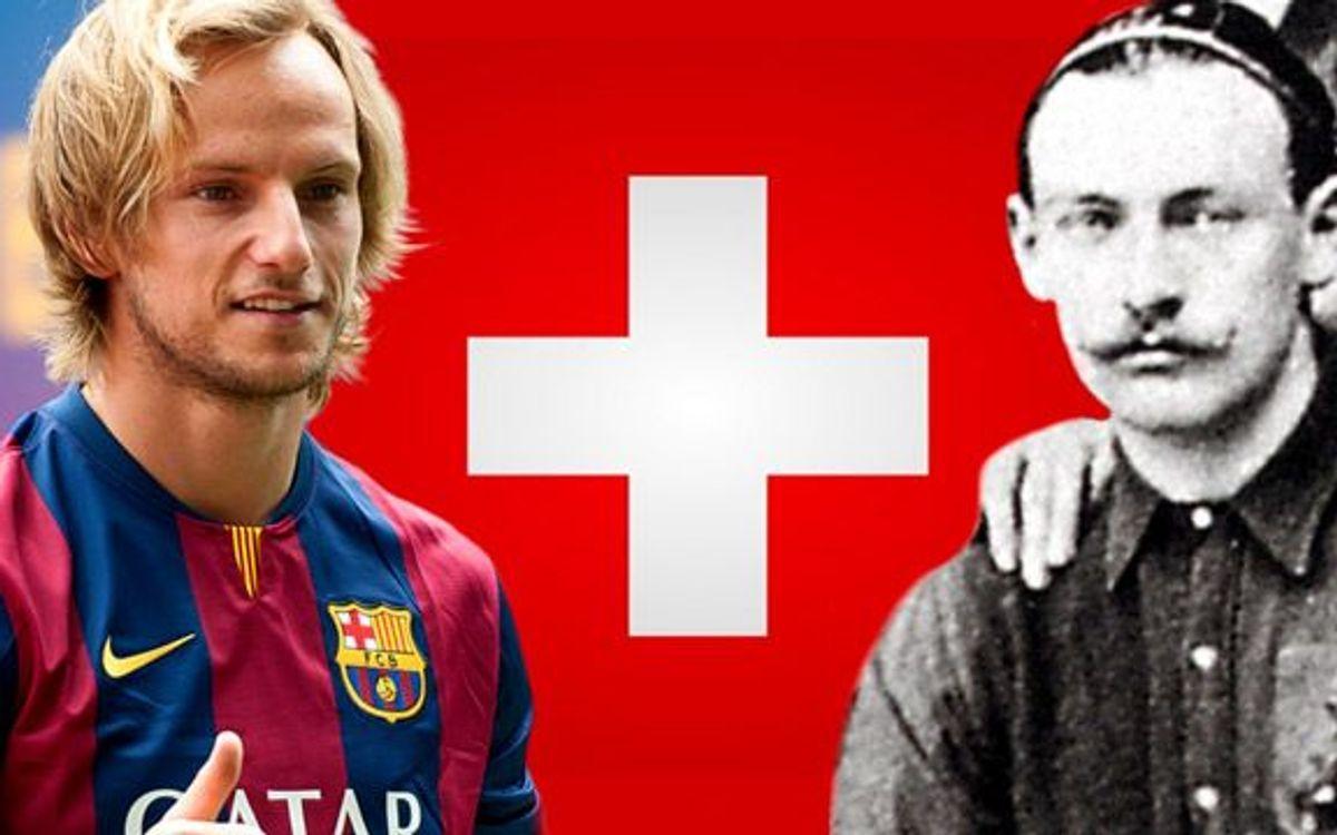 La llegada de Rakitic actualiza los vínculos del Barça con Suiza