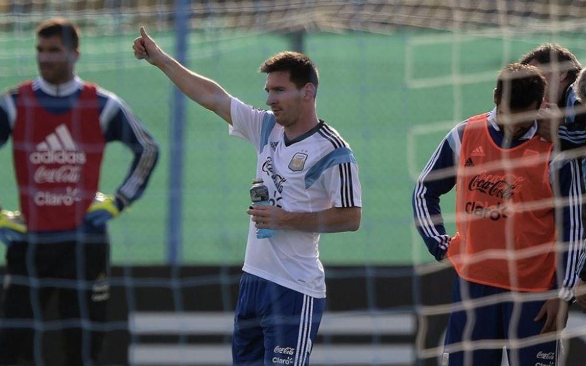 Mascherano, Messi i Song, convocats per al Mundial