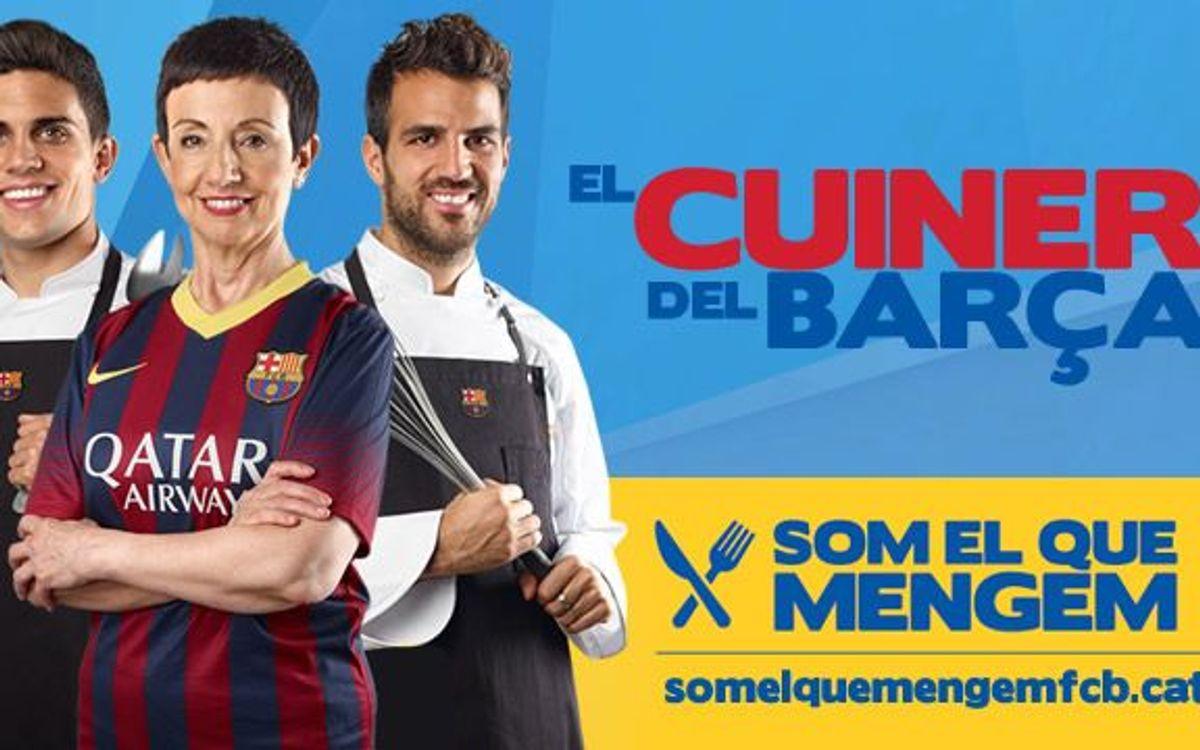 Torna el concurs 'El Cuiner del Barça'