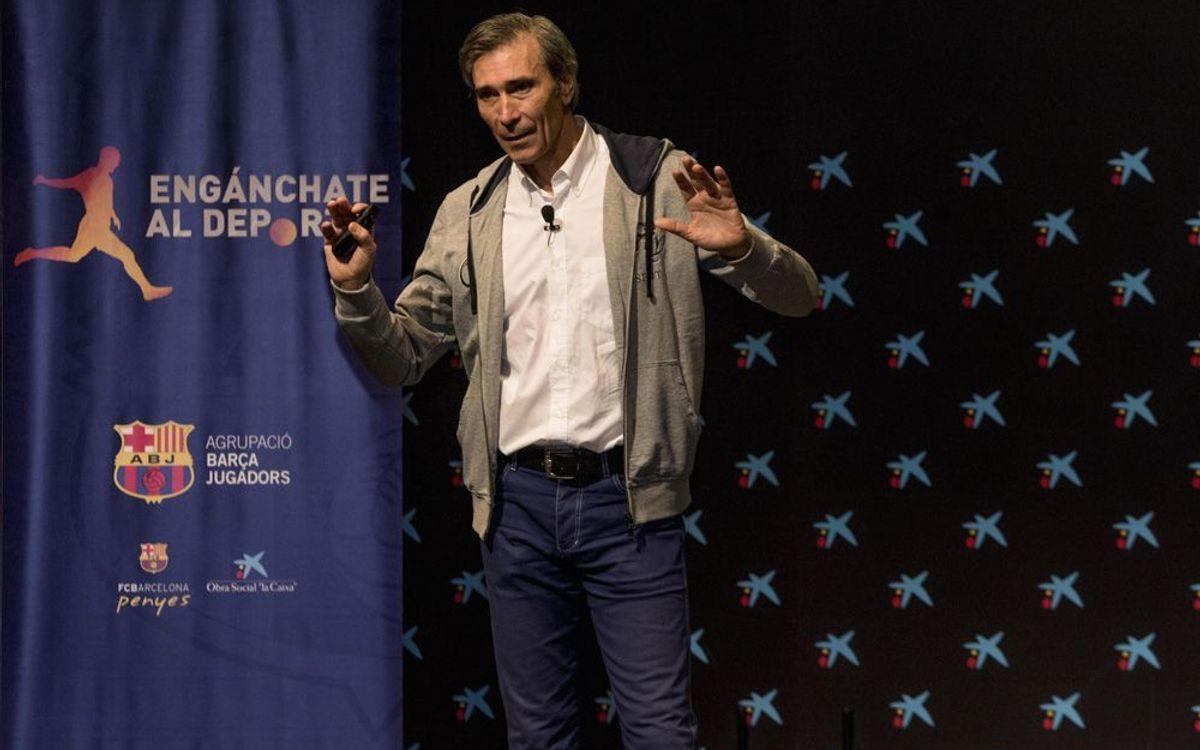 Lobo Carrasco protagonitza la jornada Engánchate al Deporte a Madrid