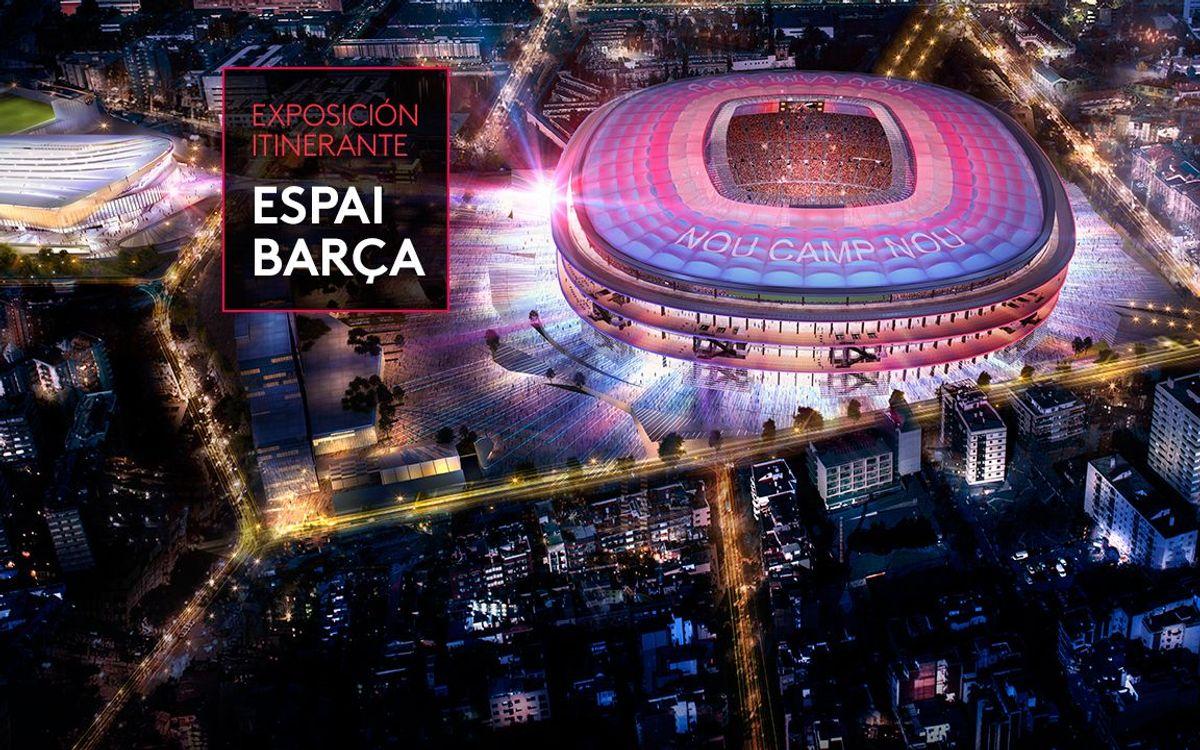 Un itinerario por diferentes localidades catalanas acercará el Espai Barça a los socios del Club