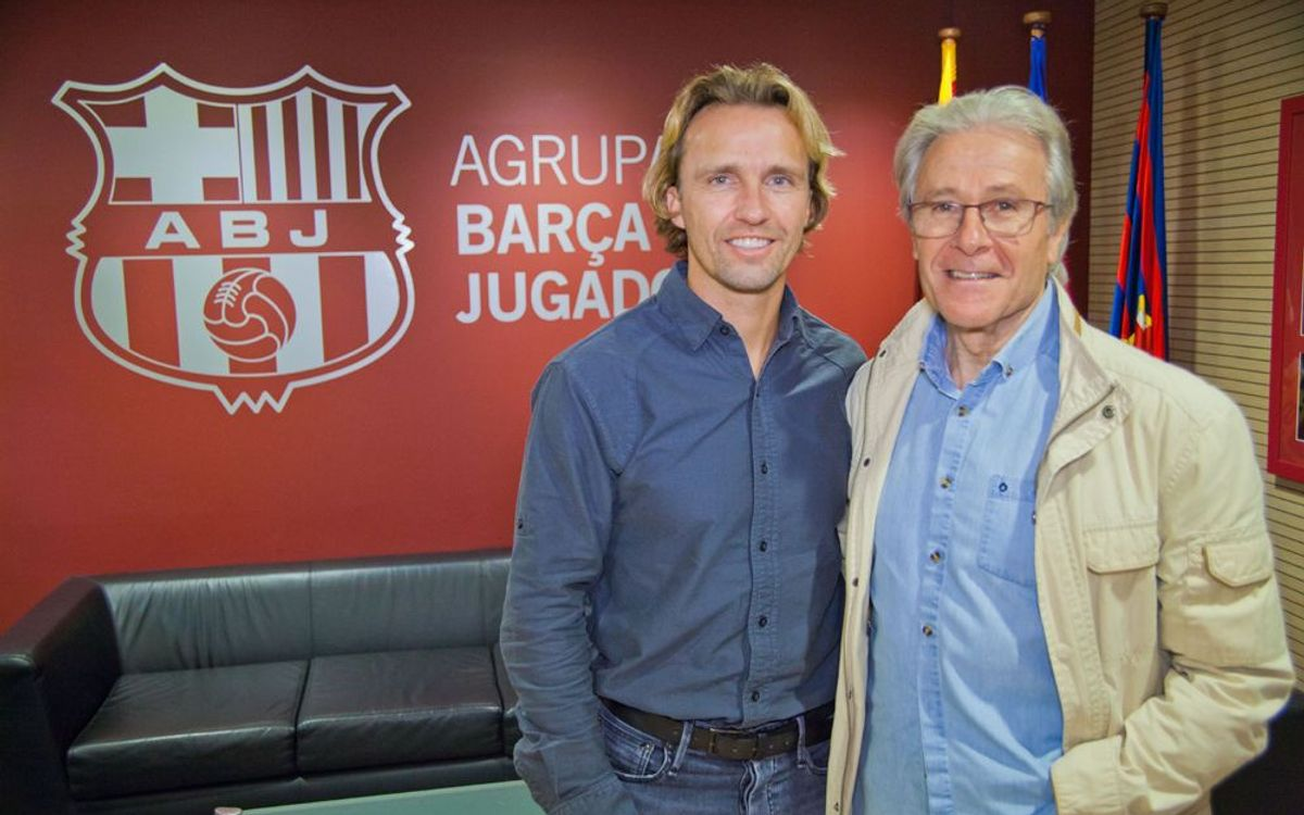 Bolo Zenden vuelve al Camp Nou