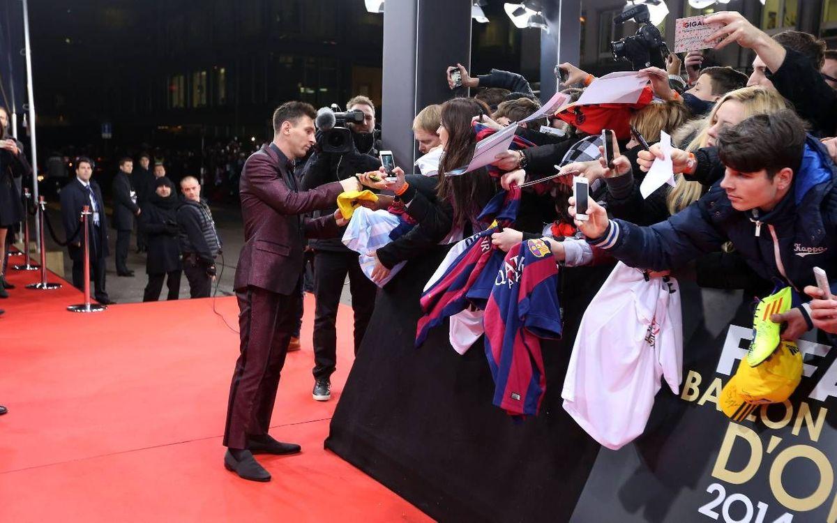 Barça TV dedicarà més de 7 hores de programació a la gala de la Pilota d'Or