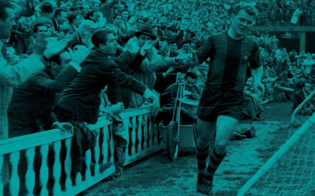 Barça Tv estrena un reportatge del debut de Kubala