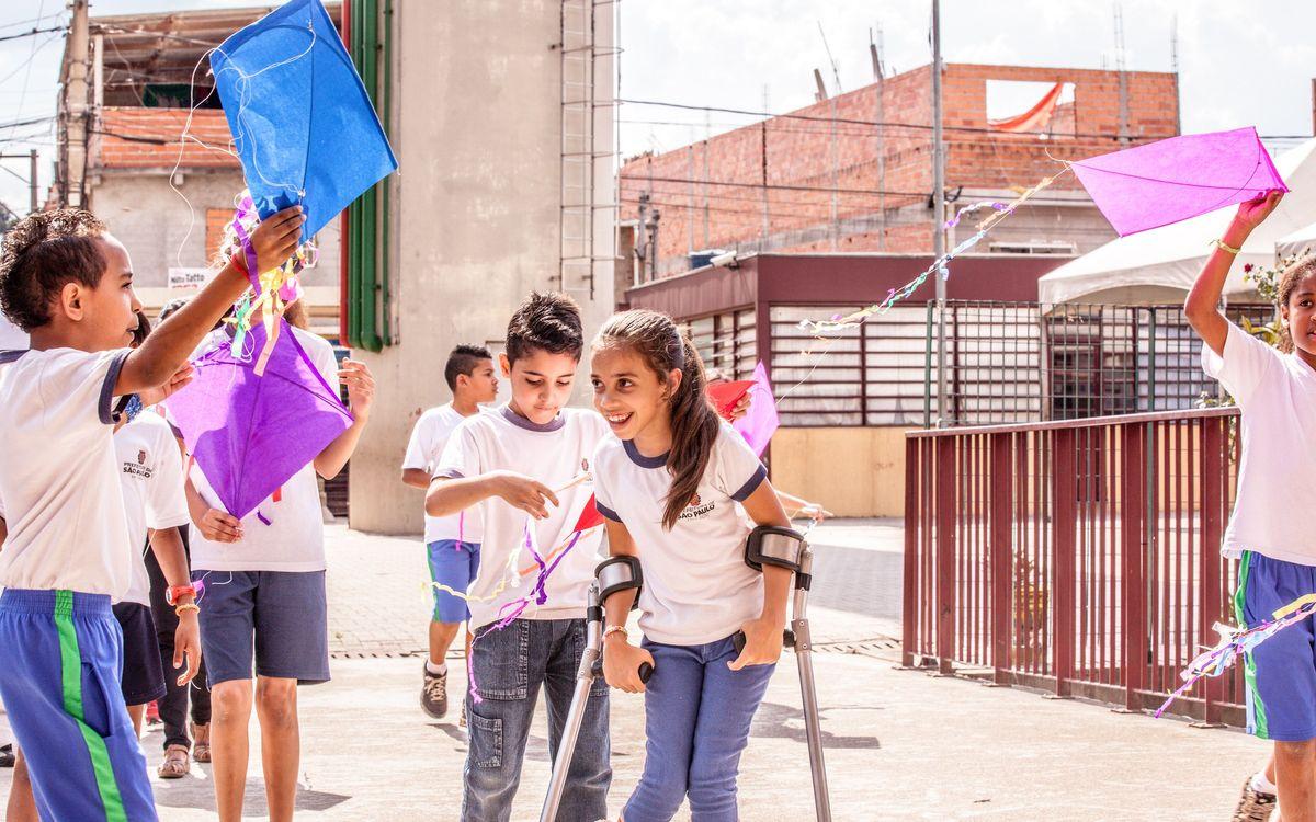 Curs d'educació física inclusiva amb l'Unicef