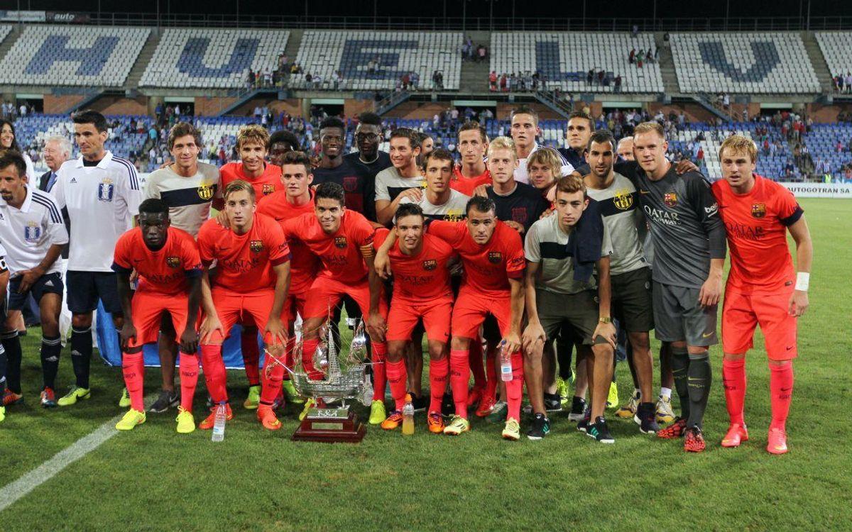 Recreativo de Huelva - FC Barcelona: Estreno victorioso (0-1)
