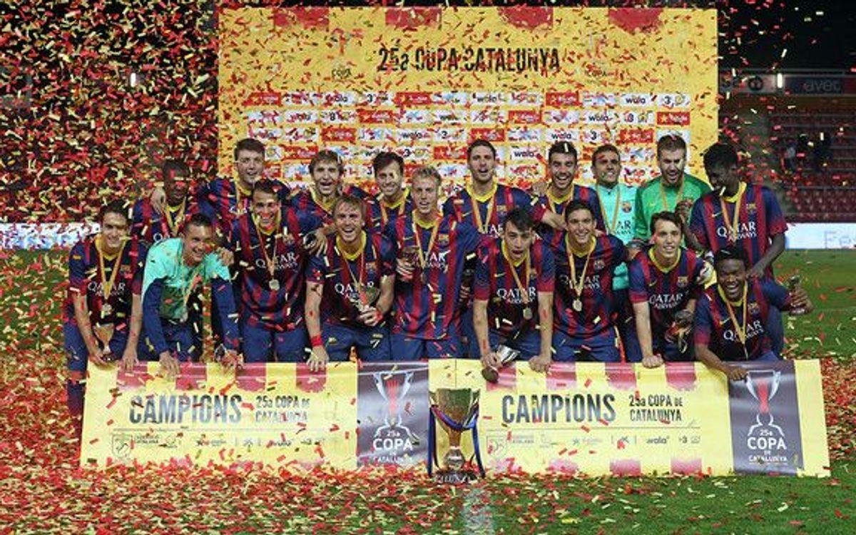 CE Sabadell-Barça B: Quieren levantar la novena Copa Catalunya y dedicársela a Cruyff