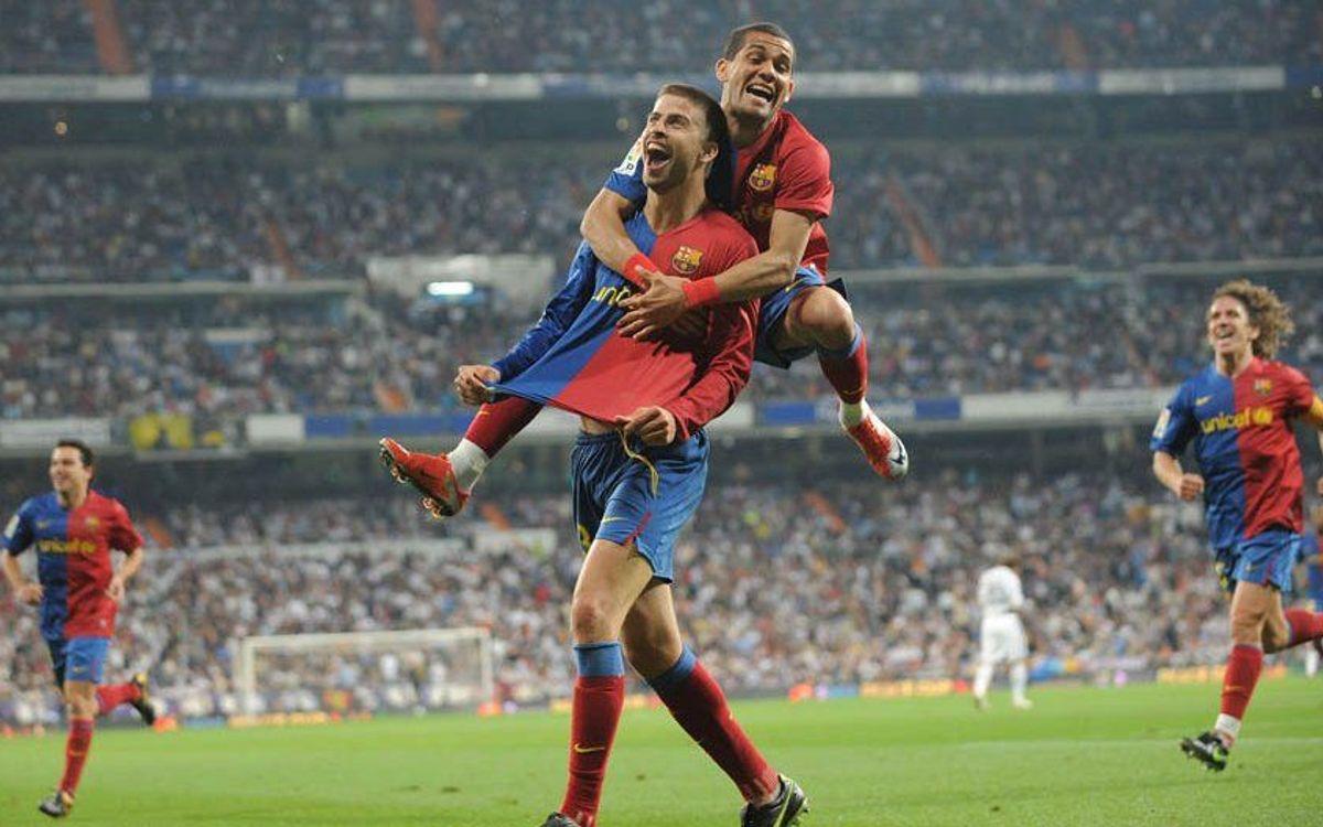 El Clásico del 2 a 6 en el Bernabéu, el súmum de la felicidad blaugrana según Bernat Soler.