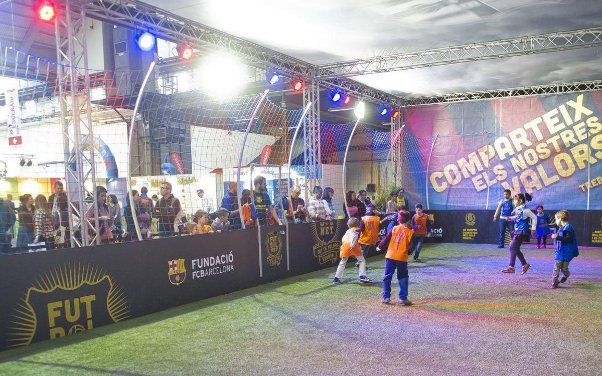 La Fundació es trasllada al Festival de la Infància per Nadal