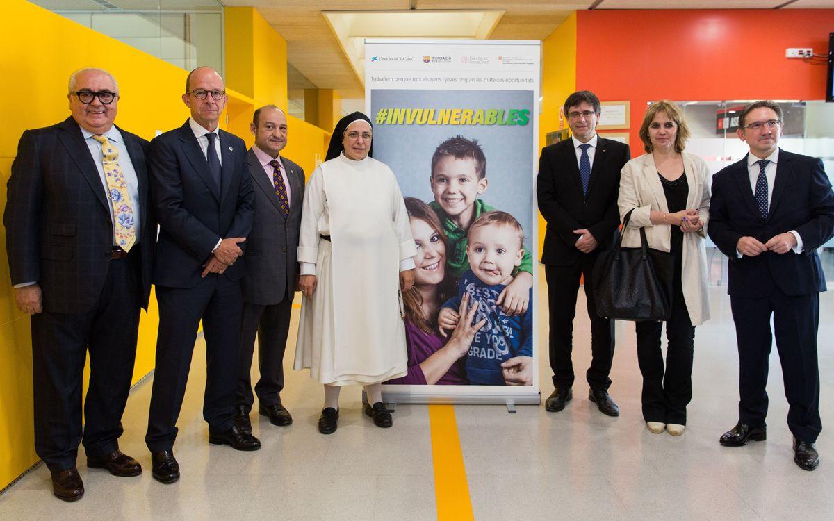 Nova presentació d'#Invulnerables a l'empresariat català