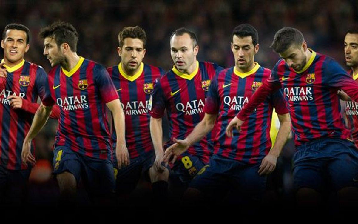 Siete del Barça en la lista provisional de España