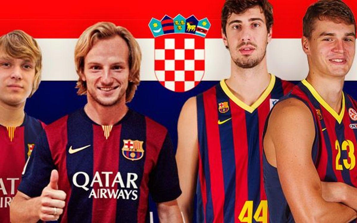 Rakitic completa l'accent croat del Barça