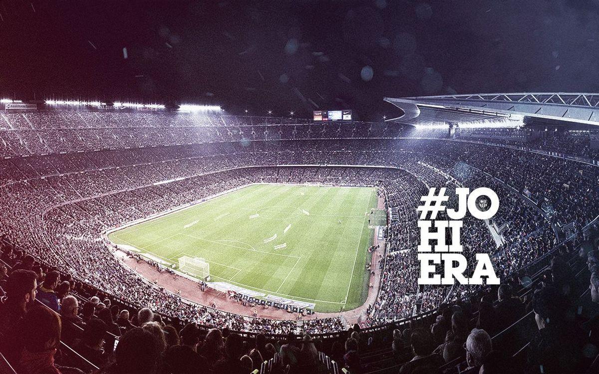 El dimecres 7 d'octubre s'obre la venda d'entrades per als partits de la segona volta de la Lliga al Camp Nou